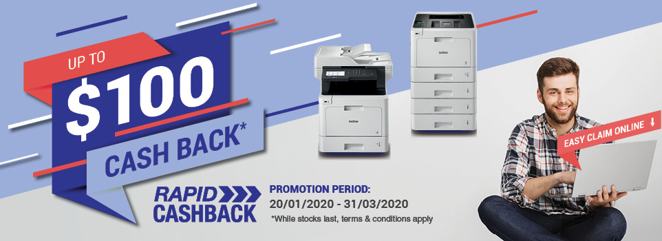 Brother Cash Back - End of year 2019